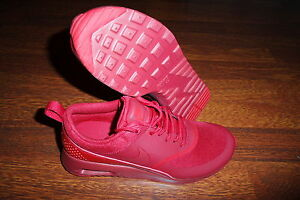 Details about WMNS Nike Air Max Thea GYM REDUNIVERSITY RED 599409 606 Running SZ 8.5