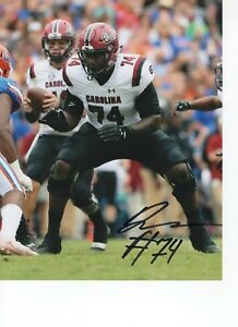 factory price 1a65d 54389 Details about DENNIS DALEY SOUTH CAROLINA GAMECOCKS SIGNED 8X10 PHOTO W/COA