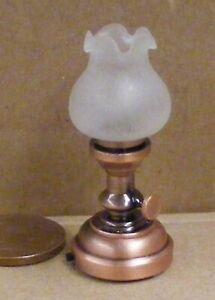 FidèLe Échelle 1:12 Table De Travail Batterie Del Lampe Maison De Poupées Miniature Lumière Sb1008-afficher Le Titre D'origine