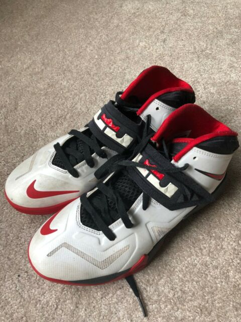 sneakers for cheap 1fa4f 4d188 Nike Lebron Zoom Soldier VII 7 Mens 11 599264-100