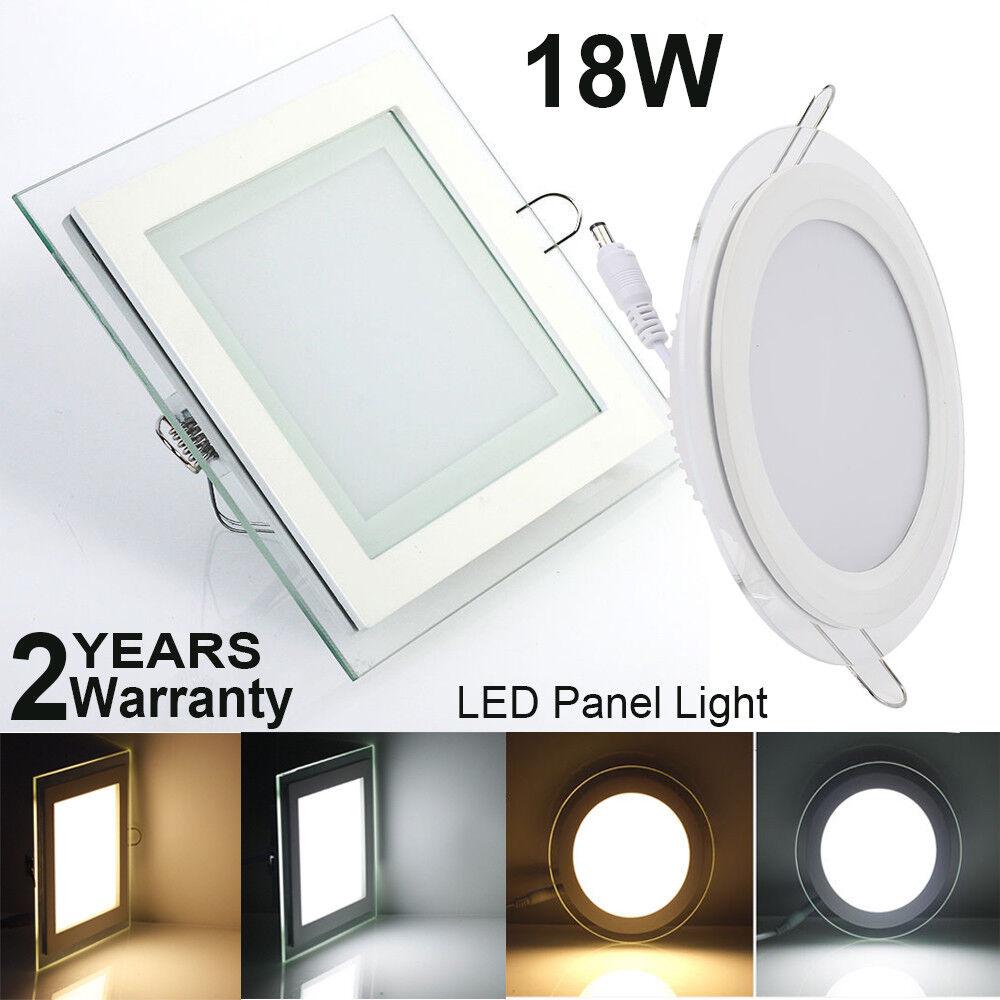 18w LED montaje emisor lámpara de techo panel light LED-plafón ultra slim + transformador