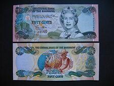 BAHAMAS  1/2 Dollar 2001  (P68)  UNC