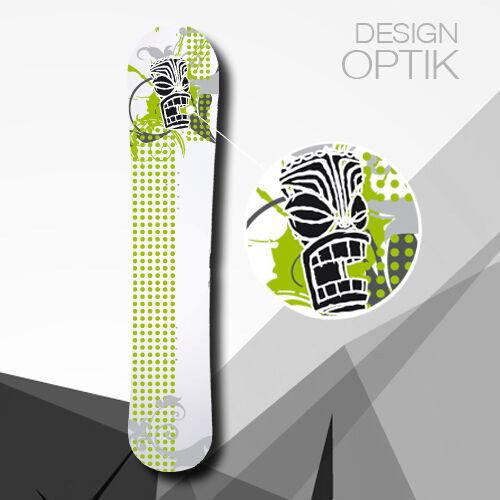 SNOWBOARD SKIN Maske Design WRAP Aufkleber Snowboardtattoo custom Cover Folie