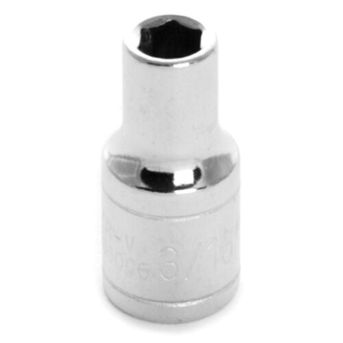 "Shallow Performance Tool W36006 Chrome Socket 1//4/"" Drive 3//16/"" 6 Point"