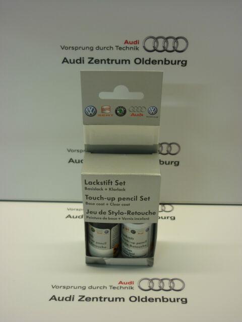 Original VW und Audi Lackstift Set LZ9Y; Phantomschwarz-perleffekt,Lackstift Z9Y