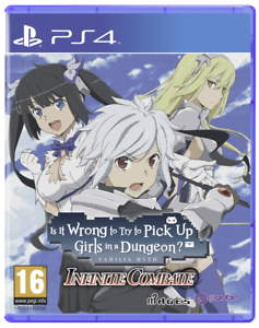 Is it Wrong to Try to Pick-up Girls in a Dungeon ? Infinite Combat (DanMachi) PS