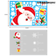 Christmas-Wall-Stickers-Window-Glass-Home-Decorations-Sticker-Decals-Mural-US miniatura 25