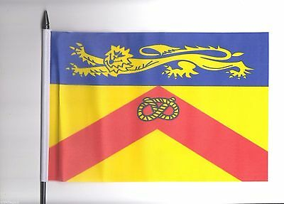 Hertfordshire County Council Medium Hand Waving Flag