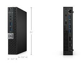 Dell, OptiPlex 7040 mikropc, Core i5-6500 Ghz