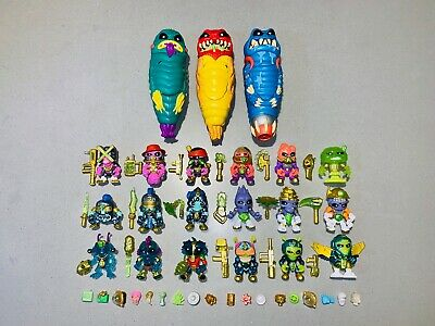 Treasure X Alien X-Face Galaxy Trackers Loose and Complete