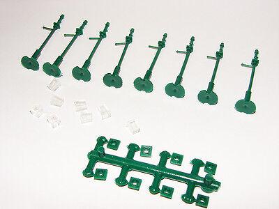 Model Scene 5004 Gas Lampen Pfosten Nenngröße 00 Detail Rubbeln Bauen