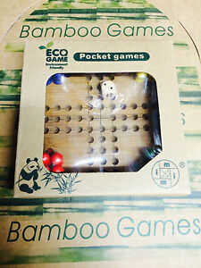 ludo bamboo game eco series pocket games brain teaser mind puzzle