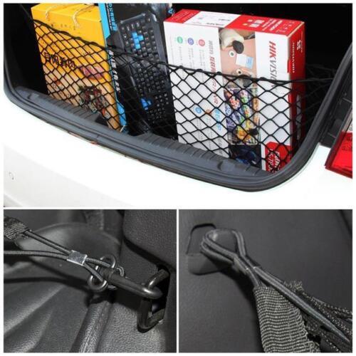115*60cm Car Trunk Interior Rear Seat Storage Luggage Mesh Cargo Elastic Net LC