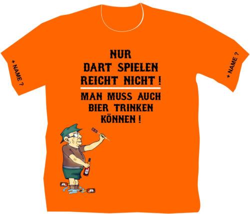 Dartclub Dart Maillot T-shirt dartshirt darthemd dartmotiv cadeau d/'anniversaire 94