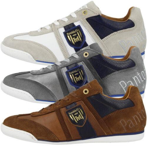 Pantofola D Oro Imola Scudo uomo Low Ascoli Chaussures Caleçon Hommes Rétro Sneaker 10191032