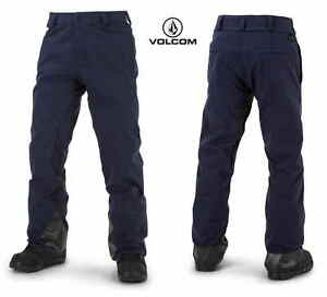 2016-NWT-MENS-VOLCOM-PAT-MOORE-SNOWBOARD-PANT-L-navy-modern-relaxed-fit