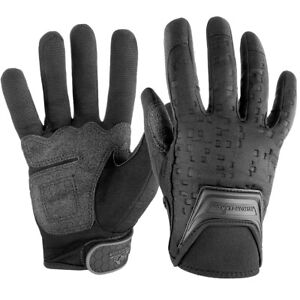 POLICE GLOVES BLACK NEOPRENE SEARCH SHOOTING WAR GAMES SIZES S,M,L,XL