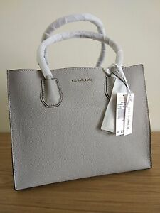 Image is loading Michael-Kors-Mercer-Large-Leather-Tote-price-tag- 5efd7f2bc91f2