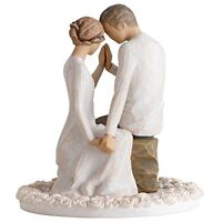 Willow Tree Around You Bride And Groom Wedding Cake Topper Figurine 27342 New, N on sale