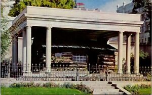 Vintage-Postcard-Oldest-House-Standing-In-Salt-Lake-City-Utah-Posted-1966