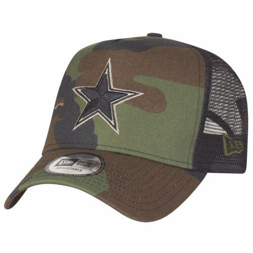 New Era Adjustable Trucker Cap Dallas Cowboys wood camo