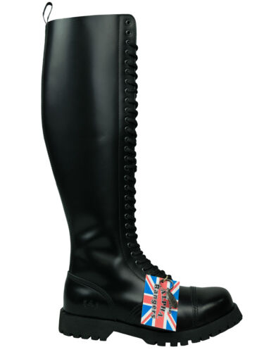 buche in 5035 stivali Ranger neri Combat Ranger Alpha Boots 30 pelle wZpy1TcIqA