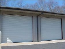 10x12 Commercial 2000 Series Roll Up Door by DBCI w/Hardware & Chain Hoist