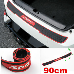 Rubber Bumper Protector Trunk Sill Plate Guard Scratch Fit for Ford Focus