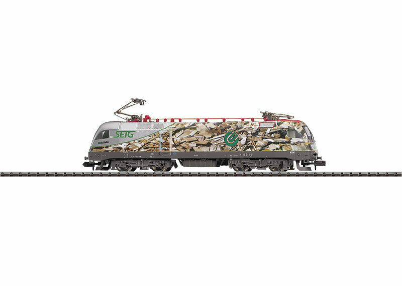 Minitrix 12550 Locomotora Eléctrica Mittelweserbahn Nuevo