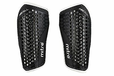 Mitre SPEED Football Slip In Shin Pads/Guards Protection Mens L Under 180cm Tall