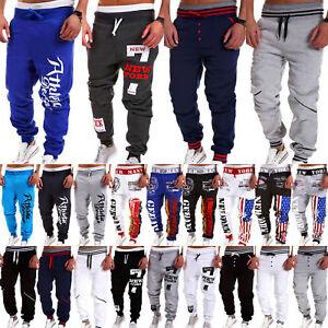 Mens-Casual-Sweatpants-Sports-Baggy-Jogger-Harem-Pants-Jogging-Tracksuit-Bottoms