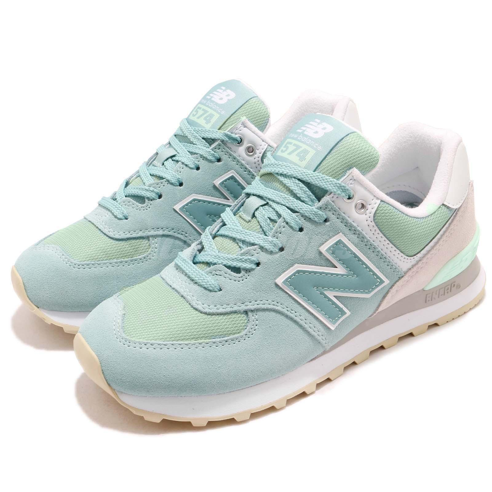 New Balance WL574TAB B vert  Gris chaussures  blanc Femme fonctionnement chaussures Gris Baskets WL574TABB 8f2db0