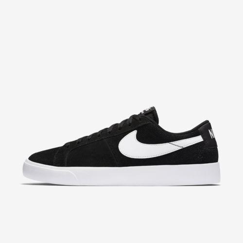 Nike SB Zoom Blazer Vapor Hombre Suede Negro Blanco totalmente Zapatos  de Skate totalmente Blanco nuevo Talla d5a3fc