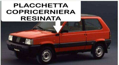 FIAT PANDA OLD 141a 4X4 PLACCHETTE COPRICERNIERA PERSONALIZZATE NR 15