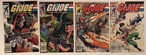 GI-Joe-ARAH-lot-of-4-comics-43-45-47-amp-54-Marvel-Newsstands