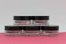 5 PACK -Dermablend Professional Loose Setting Powder- .18OZ