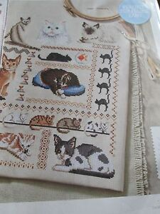 039-Simply-Purr-fect-039-sampler-cross-stitch-chart-only