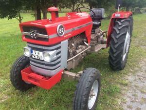 massey ferguson mf 165 traktor oldtimer ohne allrad ebay. Black Bedroom Furniture Sets. Home Design Ideas