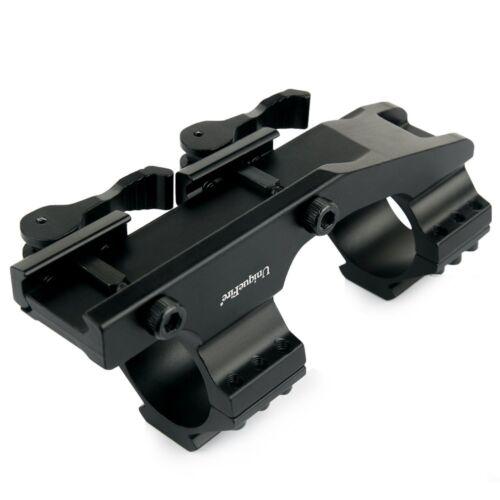 30mm 25.4mm mmdoppio anello di montaggio MIRINO PER FUCILE WEAVER RAIL