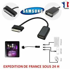 Cable Adaptateur OTG pour Samsung / Galaxy / Tab 7.0 /7 /8.9 /10.1 vers USB F