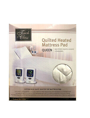 Quilted Heated Mattress Pad Queen 60in x 80in 2 ...