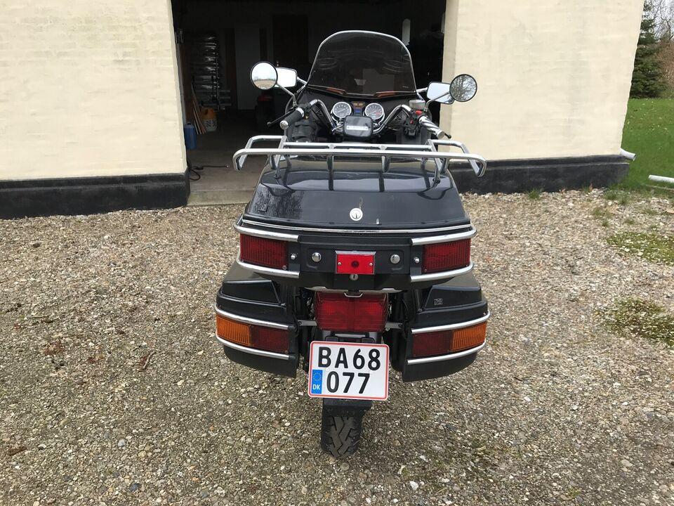 Honda, gl 500 silverwing, 493 ccm