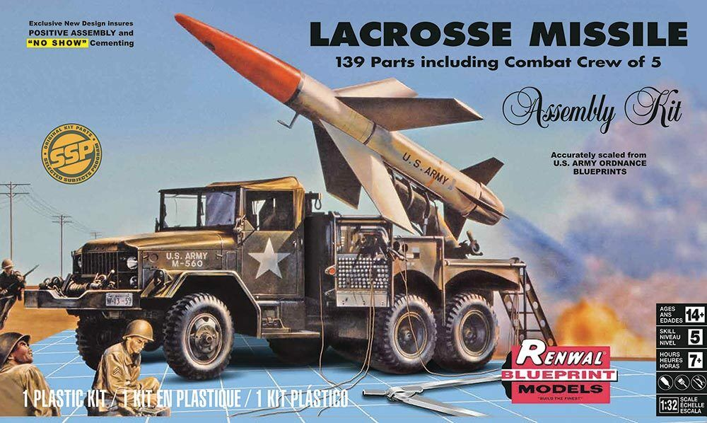Avslöja Monogram 1  32 LaCrosse -missil med stridsbesättning