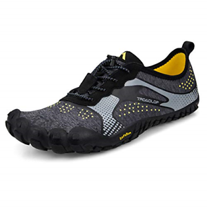 Troadlop Men's Trail Running shoes Lightweight Breathable Non Slip Barefoot Size