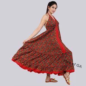 Beautiful-Indian-Handmade-Bohemian-Hippie-Silk-Magic-Summer-dress-Maxi-dress