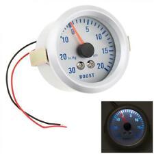 KKmoon Turbo Boost//Vacuum Gauge Meter for Auto Car 2 52mm 0~30in.Hg//0~20PSI Blue Light