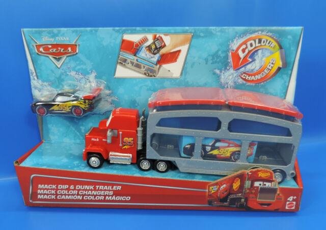 Mattel Cars Farbwechsel Mack Transporter Sonstige