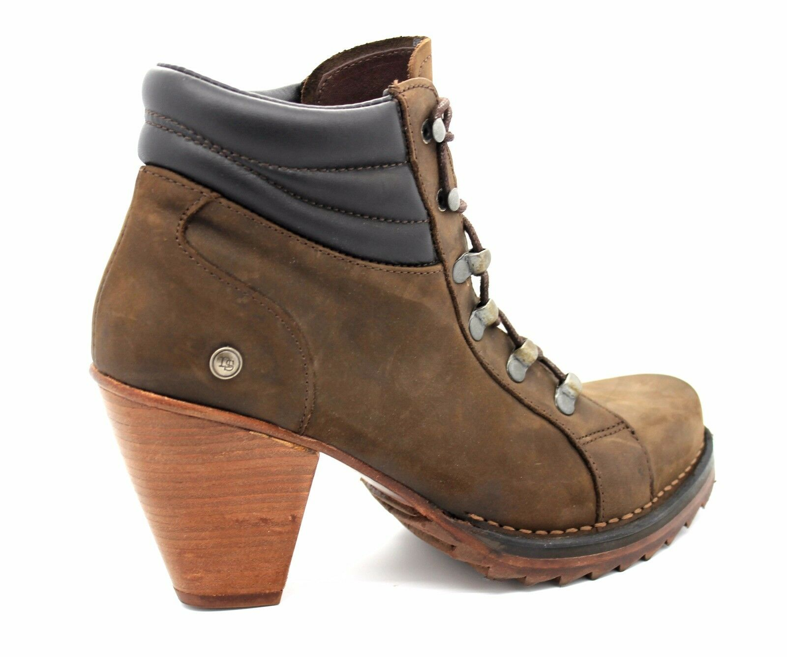 Neosens UK 6 (EU 39) Chelva S230 Chocolate Brown Leather Leather Leather High Heel Ankle Boots 4daf66
