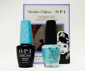 Opi Breakfast At Tiffany Gelcolor Nail Polish I Believe In