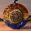 Tibet-Buddha-Pendant-Om-Mani-Mantra-Necklace-Amulet-Blessed-Buy-2-Get-1 thumbnail 1